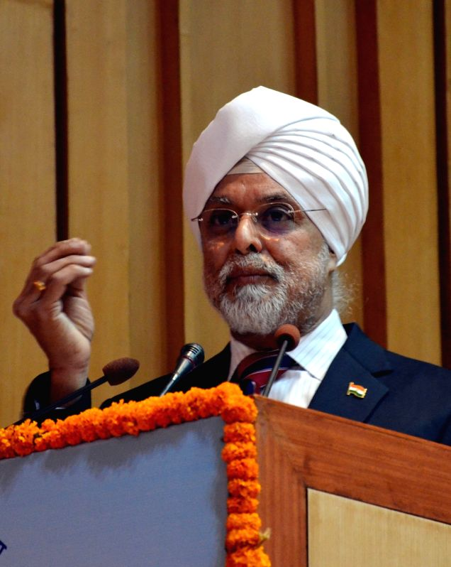 """Chief Justice of India Justice Jagdish Singh Khehar addresses during the National Meet of Para Legal Volunteers """"Soilders of Legal Services Institutions at Grassroots"""" organised ... - Jagdish Singh Khehar"""