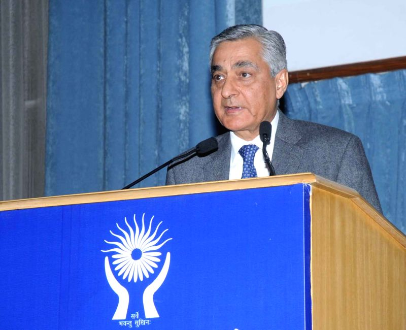 "Chief Justice of India Justice T S Thakur addressing at the ""Human Rights Day"" function, organised by the National Human Rights Commission (NHRC), in New Delhi on Dec 10, 2015."