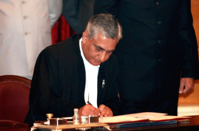Chief Justice of India Tirath Singh Thakur. (File Photo: IANS) - Tirath Singh Thakur