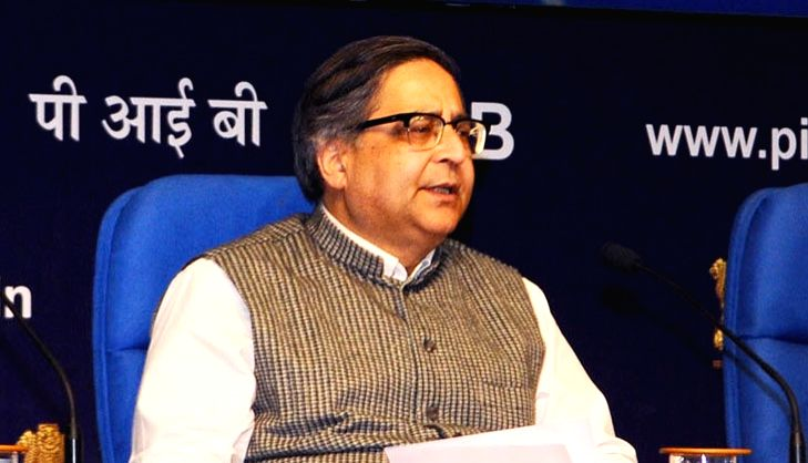 Chief Statistician of India and Secretary, Ministry of Statistics & Programme Implementation, Dr. TCA Anant. (File Photo: IANS)
