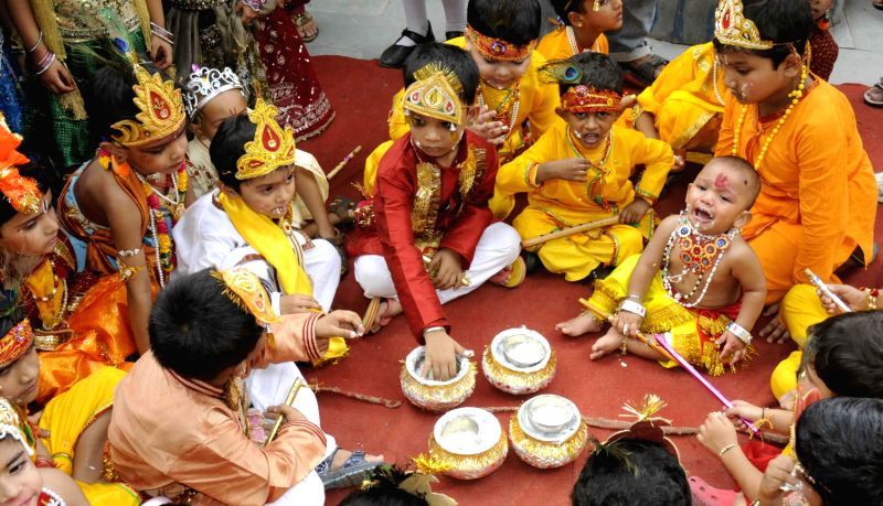little krishnas on ashtami rohini