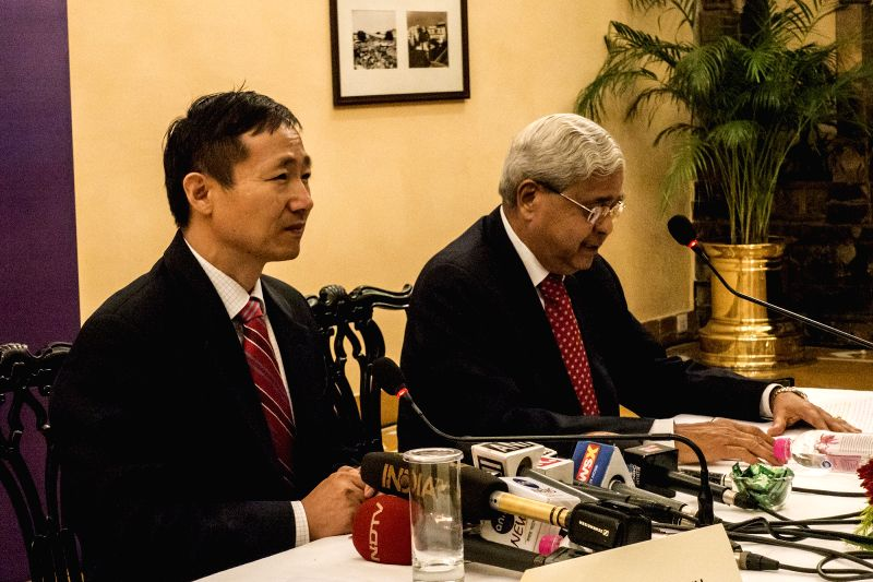 Ma Zhanwu's press conference - Consulate Sitaram Sharma