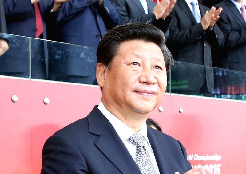 Chinese President Xi Jinping. (File Photo: Xinhua/IANS)