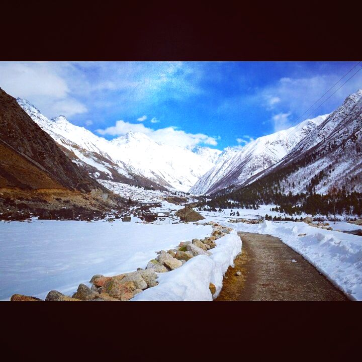 Chitkul, last village in Indo-China border