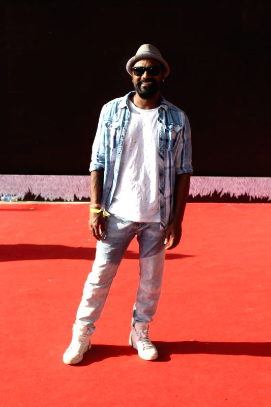 Choreographer and filmmaker Remo D'Souza during the red carpet of Justin Bieber concert in Mumbai on May 10, 2017.