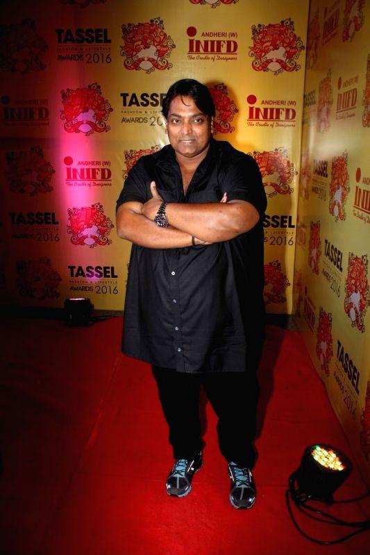 Choreographer Ganesh Acharya during the Tassel Fashion & Lifestyle Awards 2016, in Mumbai, on May 8, 2016.