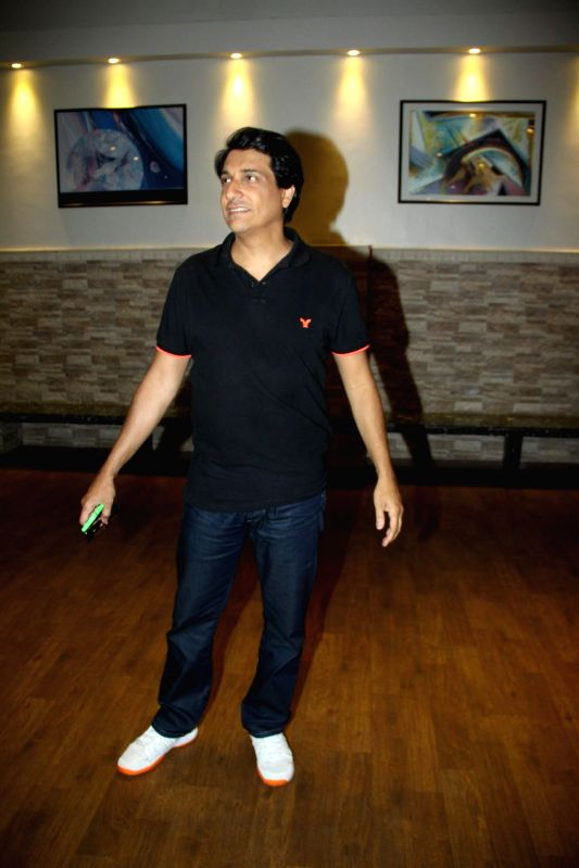 Choreographer of Shiamak Davar during Beyond Bollywood - Off Broadway musical show in Mumbai on Tuesday, May 13th, 2014.