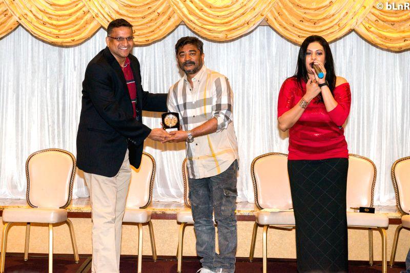 Choreographer Raju Sundaram during the movie auido launch of film Chicago on Hyderabad, June 12, 2017.