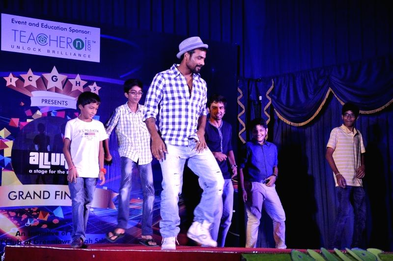 Choreographer Remo D'Souza during the promotion of upcoming film Desi Kattey in Mumbai, on August 9, 2014.