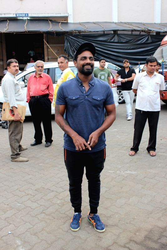 Choreographer Remo D`Souza snapped at Mehboob Studios in Mumbai, on June 13, 2017.