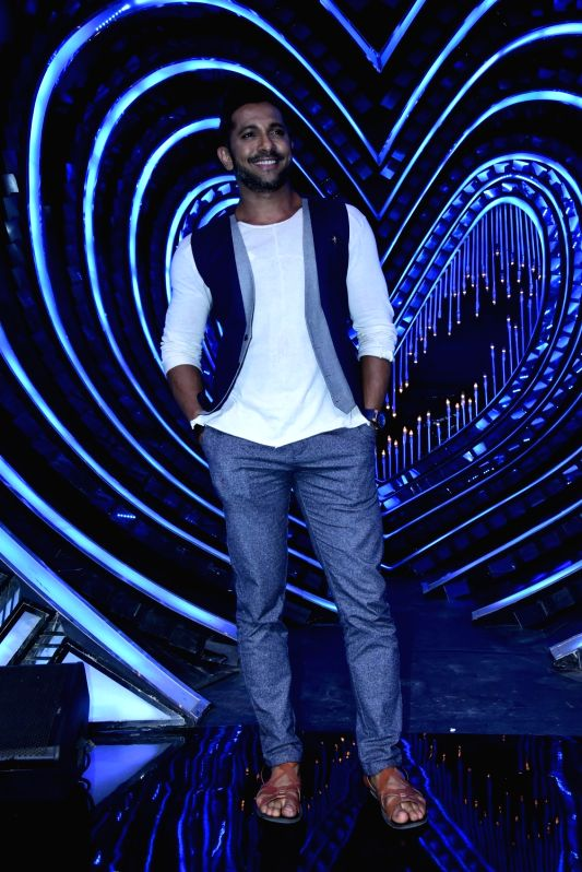 choreographer Terence Lewis during the promotion of film Half Girlfriend on the sets of Star Plus TV show Nach Baliye Season 8 in Mumbai on April 26, 2017.