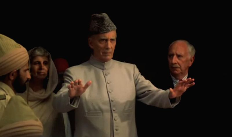 Christopher Lee as Jinnah in a biopic of Pakistan\'s founder