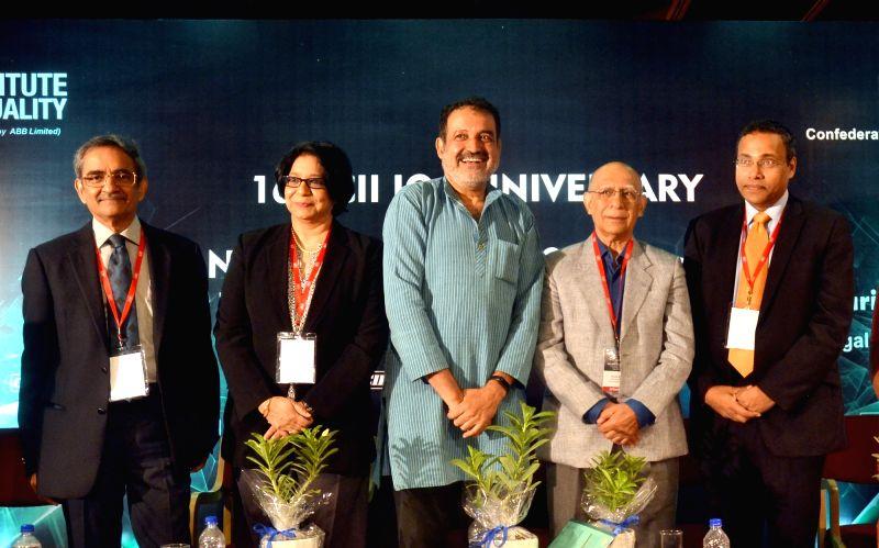 CII Past Chairman (SR) TT Ashok, IBM India Pvt. Ltd Chairman Vanitha Narayanan, Manipal Global Education Services Pvt. Ltd Chairman Mohan Das Pai, CII Past President Ashok Soota, CII ...