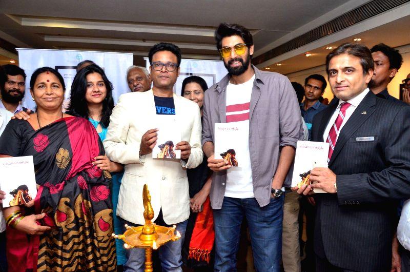 Cinema Oka Alchemy Book Launch By Rana Daggubati.