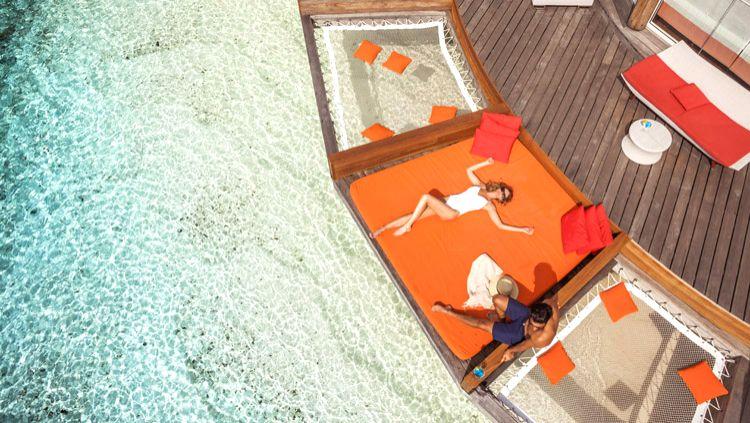 Club Med Kani island resort in Maldives.