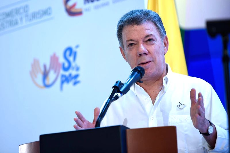 Colombia President Juan Manuel Santos. (File Photo: IANS)