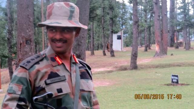 Colonel Santosh Kumar, commandant of the 41 Rashtriya Rifles who succumbed to his injuries sustained during a gun battle with separatist guerrillas in Jammu and Kashmir's Kupwara district on ... - Santosh Kumar