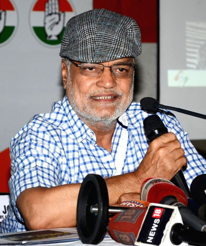 Congress General Secretary C P Joshi addresses a press conference in Guwahati on May 24, 2017.