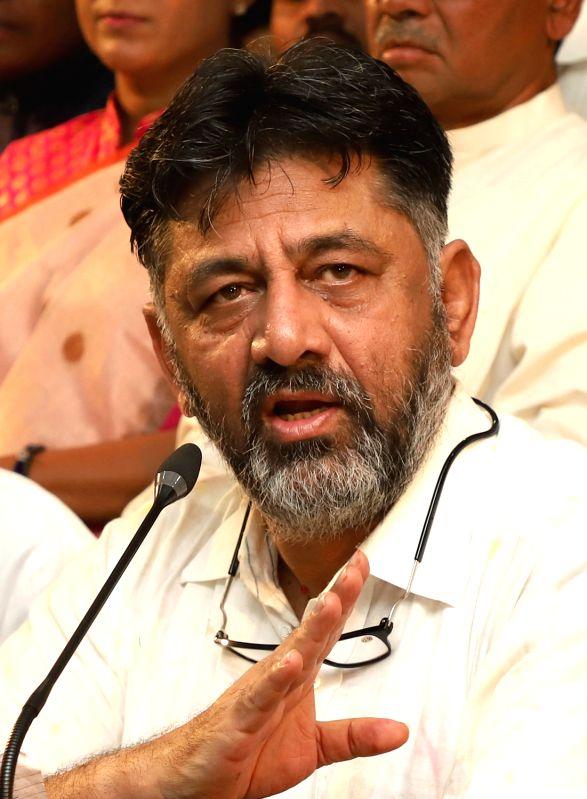 Congress leader DK Shivkumar