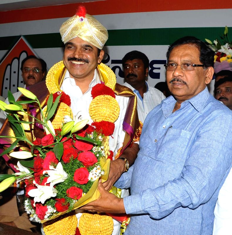 Congress leader K. C. Venugopal who has been appointed party's Karnataka in-charge in Bengaluru on May 8, 2017.
