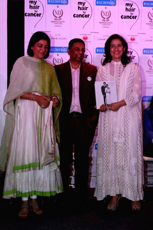 Manisha Koirala attend social cause campaign - Manisha Koirala, Priya Dutt, Apoorva Shah and Nargis Dutt Foundation
