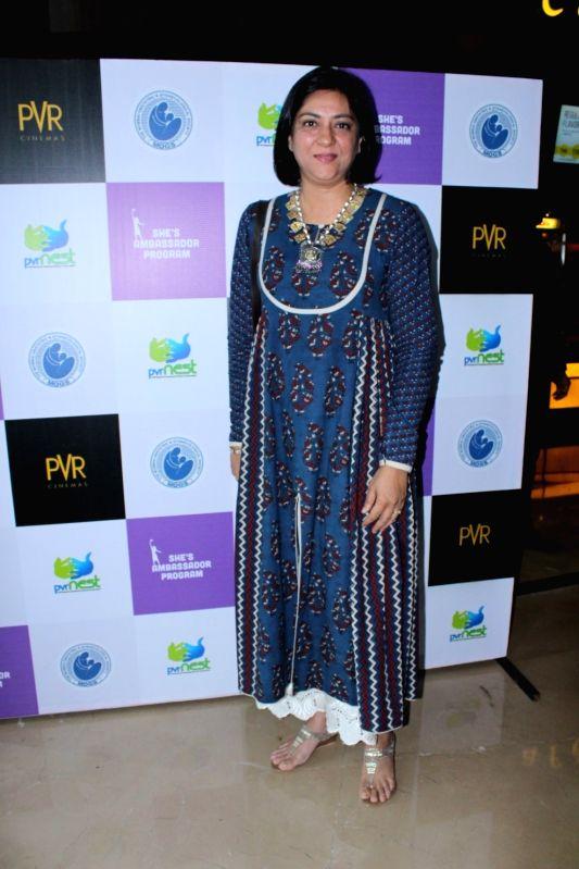 Congress leader Priya Dutt during a programme in Mumbai on April 11, 2017. - Priya Dutt