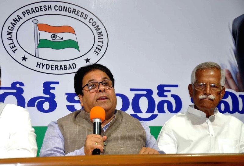 Congress leader Rajeev Shukla.