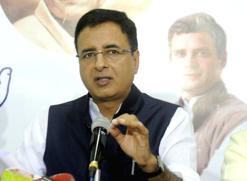 Congress press conference - Randeep Singh Surjewala