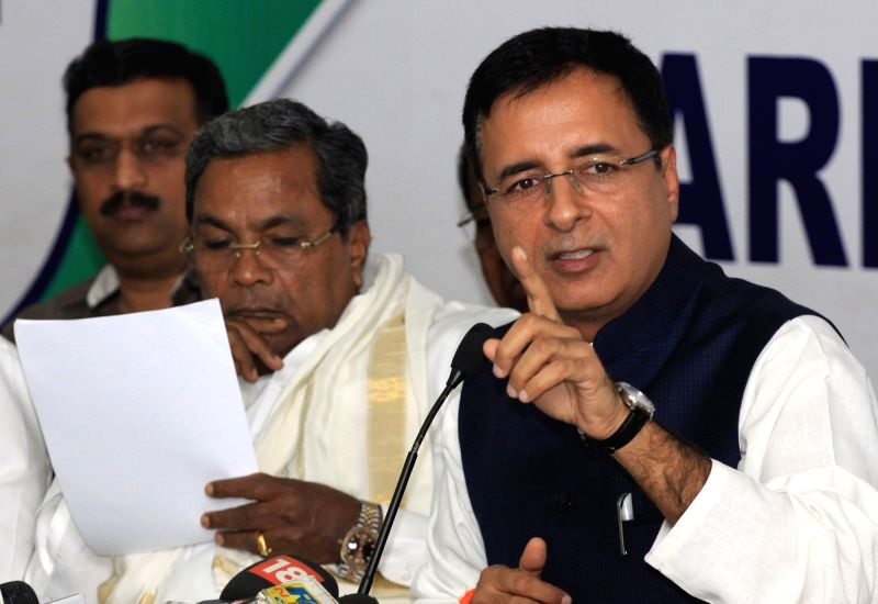 Randeep Surjewala's press conference