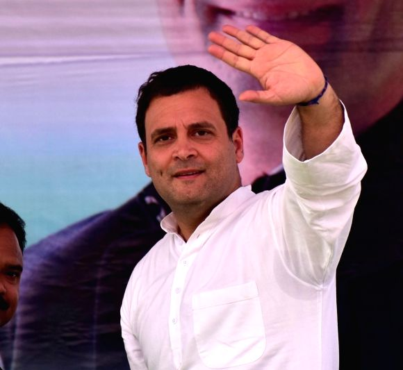 Congress President Rahul Gandhi (Image Source: IANS)