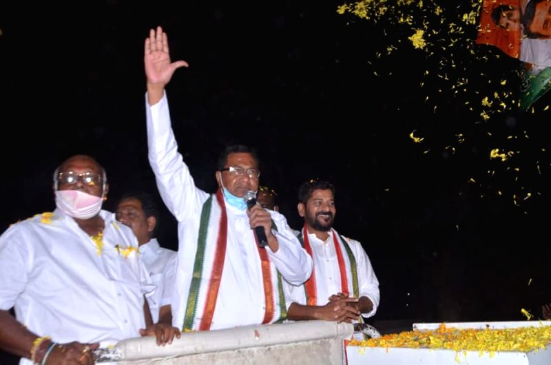 Congress veteran takes on two debutants in Nagarjuna Sagar.