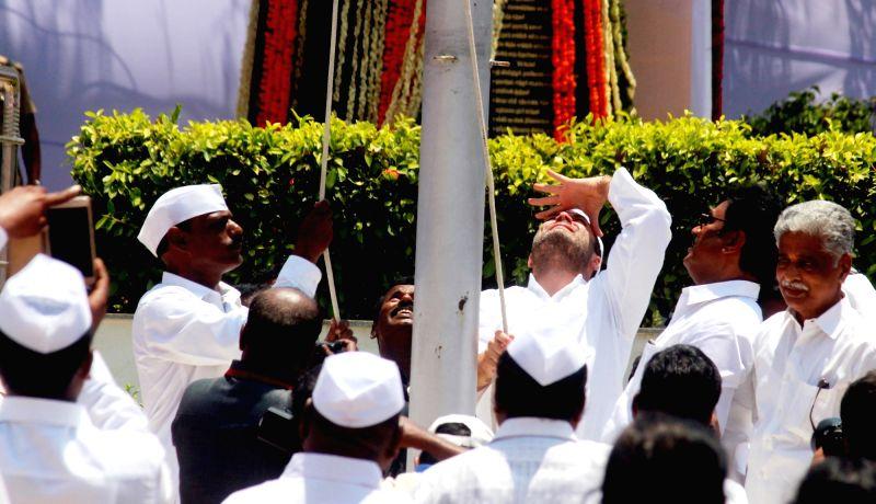 Congress vice president Rahul Gandhi during a party programme in Chennai on June 4, 2017. - Rahul Gandhi