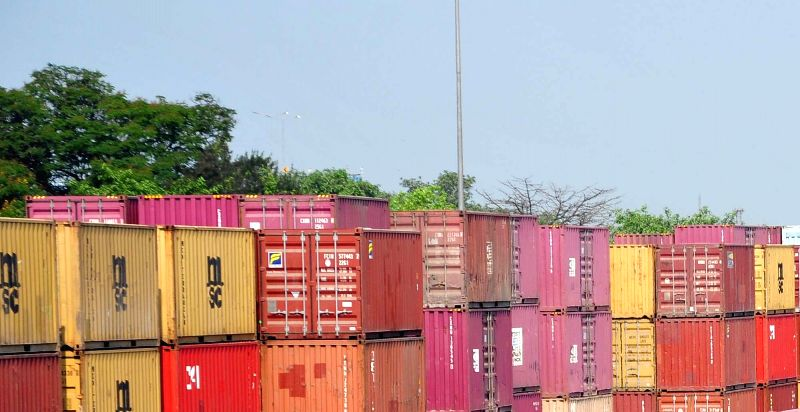 Container Terminus of Container Corporation of India. (Image Source: IANS)