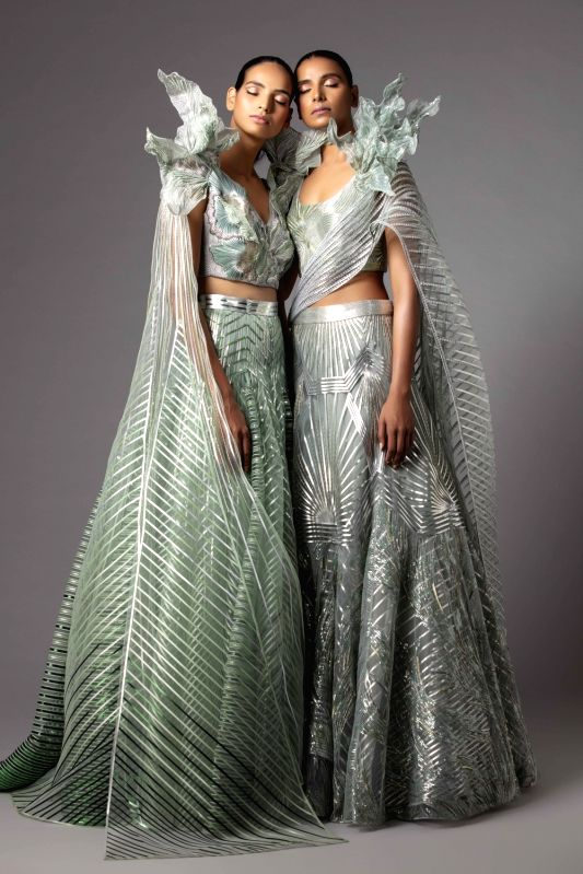 Contemporary Couture with Amit Aggarwal. (Photo: India Couture Week)