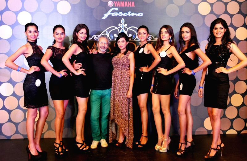 Contestants during auditions of Miss Diva Universe 2014  in Bangalore on Aug 21, 2014.