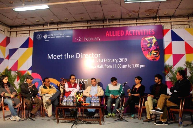 Coordinator: Neetu Vaid, Yoga Teacher NSD- Lokendra Trivedi, Theatre Critics Ravindra Tripathi and Sangam Pandey, Director of Don.... Take Bhalo Lage Sujan Mukhopadhyay, Director of Item ... - Critics Ravindra Tripathi and Sangam Pandey