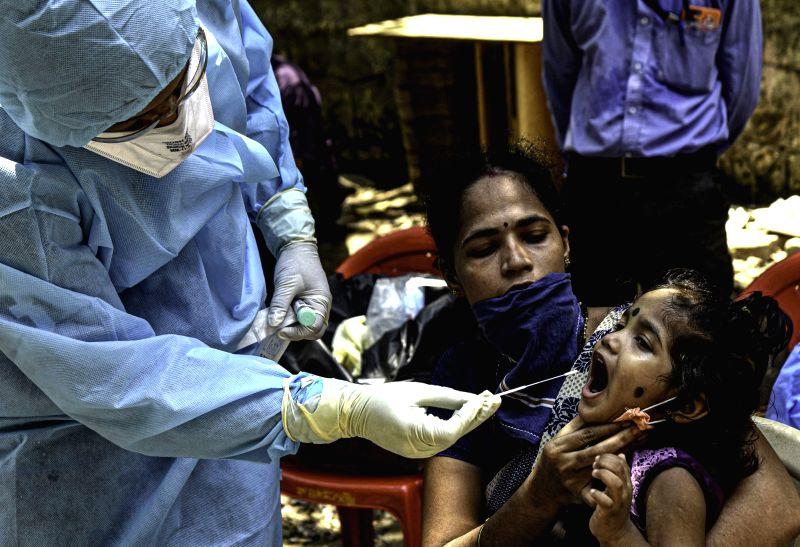 Coronavirus Test . (Photo: IANS/Xinhua)