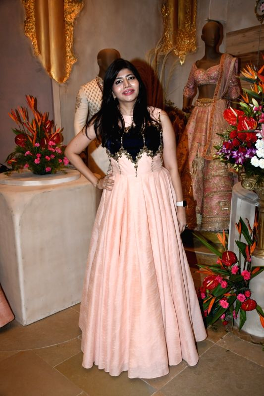 Cosmetologist Sharmila Nayak at the launch of a designer store, in Mumbai on July 21, 2018.