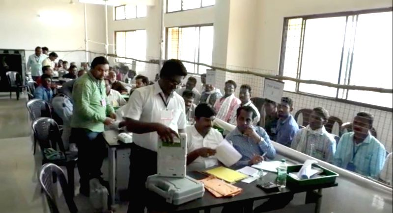 Counting of votes for Tamil Nadu's Vellore Lok Sabha seat was underway on Friday.