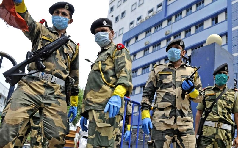 Covid-19 hits another BSF battalion in Tripura, cases reach 86