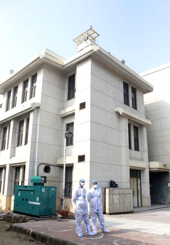 Covid-19 vaccines arrive at Rajiv Gandhi Hospital in New Delhi on Tuesday 12 January 2021   (Photo: Qamar sibtain/IANS)
