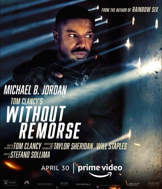 """Creed"" star Michael B. Jordan will soon be seen as bestseller author Tom Clancy's popular creation John Clark/John Kelly in the upcoming film ""Without Remorse"". The first trailer of the film dropped on Thursday."