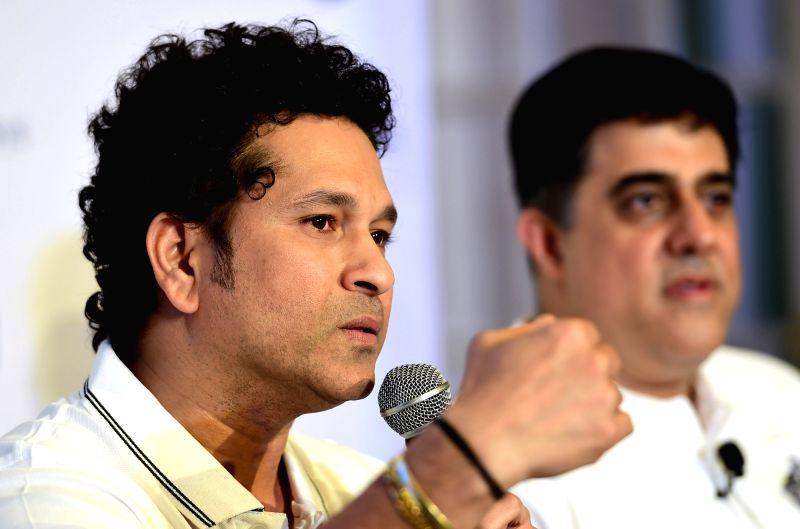 """Sachin Tendulkar launches game - """"Sachin Saga Cricket Champions - Sachin Tendulkar"""