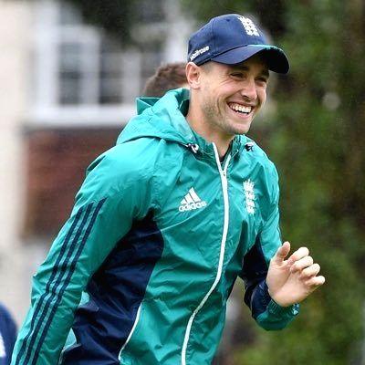 Cricketer Chris Woakes.
