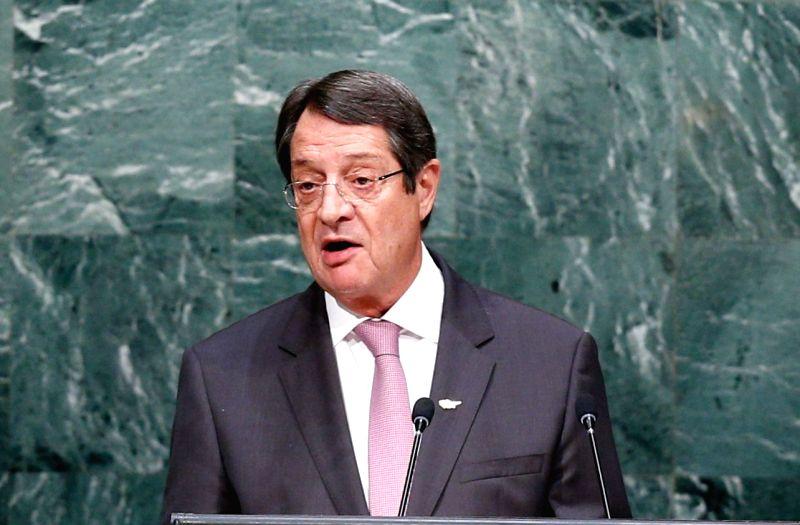 Cyprus President Nicos Anastasiades. (File Photo: IANS)