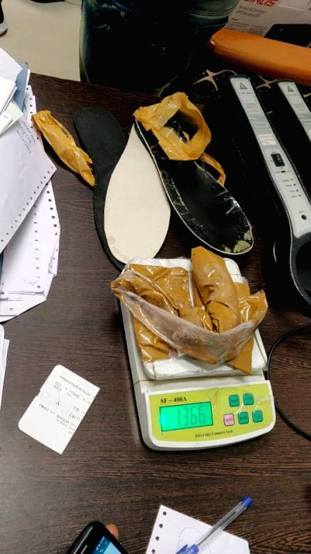 Dabolim: Gold worth Rs. 48.50 lakh weighing 1.6 kg was seized by the Customs officials from a passenger who arrived at Goa's Dabolim International Airport from Oman, on May 21, 2019. Gold plates collectively weighing 1.6 kg was packed in a plastic ba