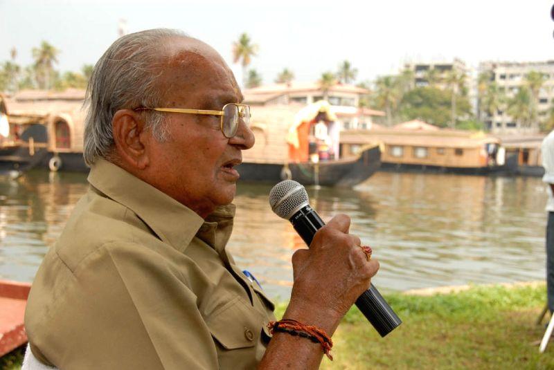 Dada Saheb Phalke Award winner K Viswanath.
