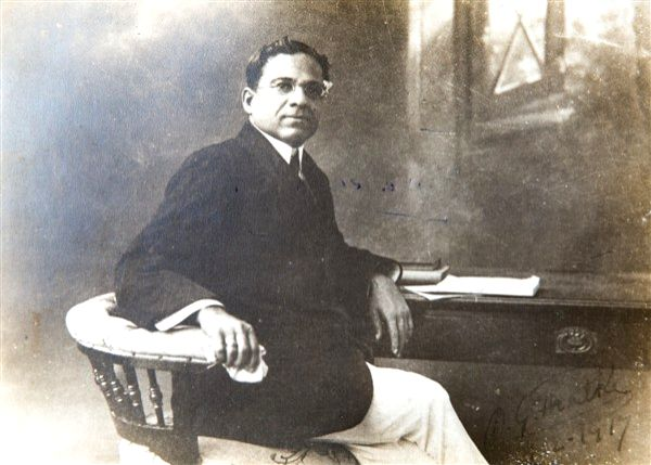 Dadasaheb Phalke aged 55, and a successful filmmaker