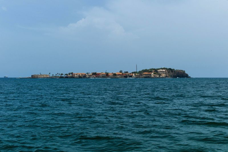 Photo taken on Aug. 22, 2014 shows the Goree Island, three kilometres east of Dakar, capital of Senegal, Aug. 22, 2014. Goree Island, reknowned for its Atlantic slave