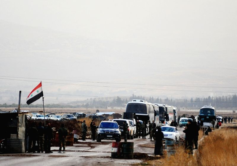 12 more patients evacuated from Syria rebel enclave